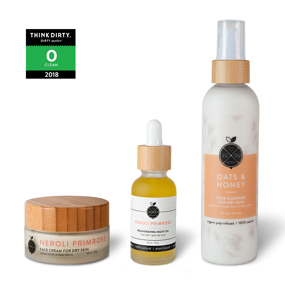 plant-based skincare, mature face cream, nontoxic face cleanser, natural nontoxic face products, night oil