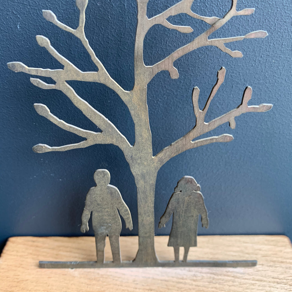 Miniature Sculpture 'Couple'