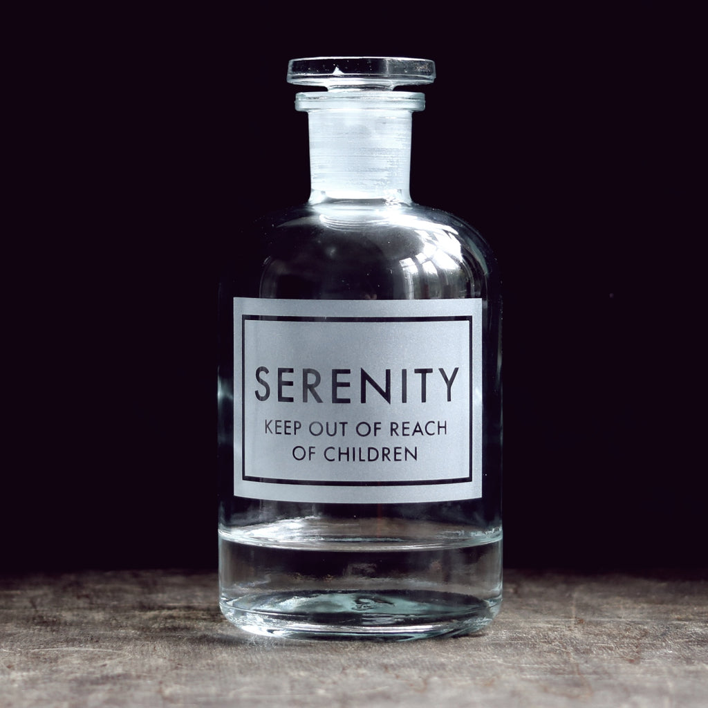 Etched Apothecary Bottle 500ml [Variants Available]