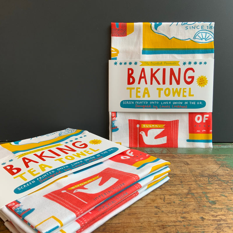 Tea Towel 'Baking'