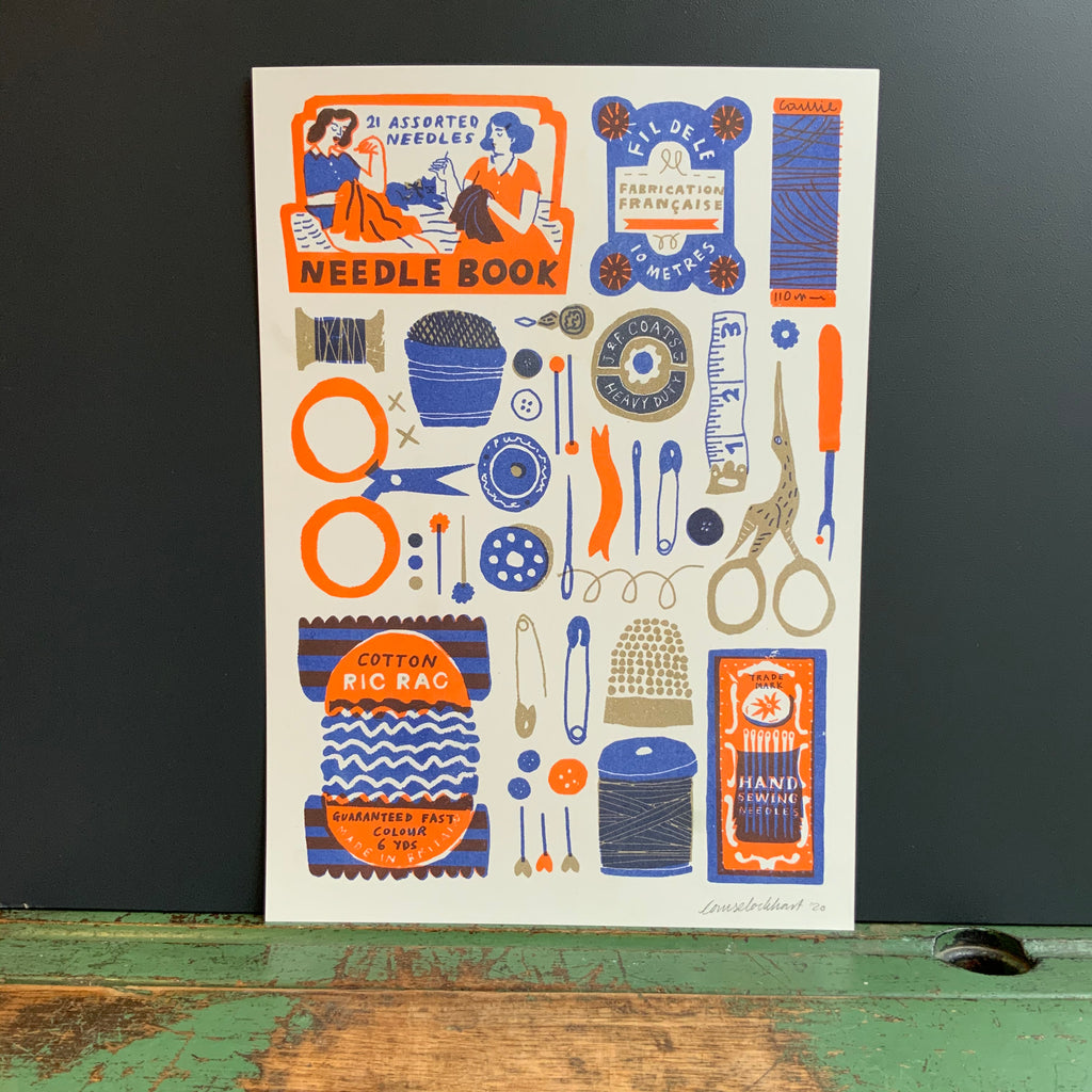 Risograph A3 'Sewing Collection'