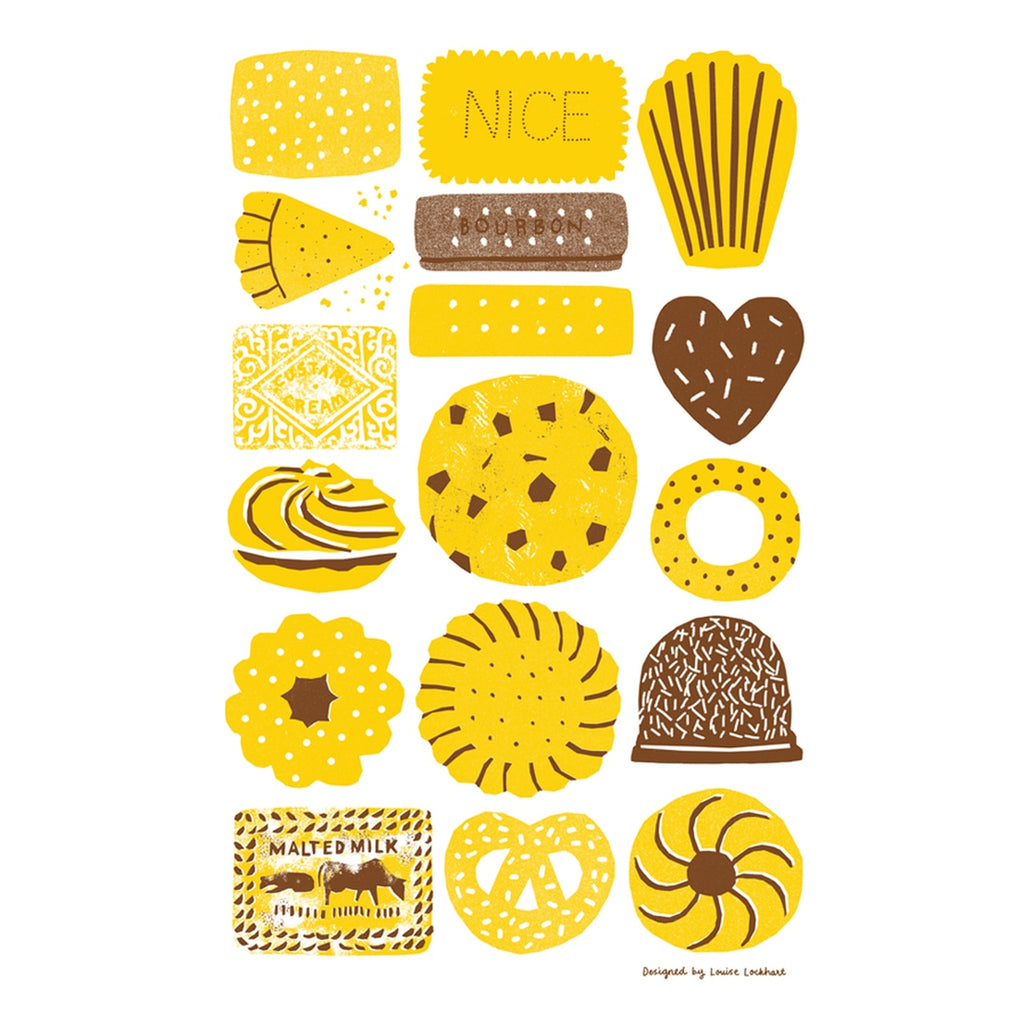 Tea Towel 'Biscuits'