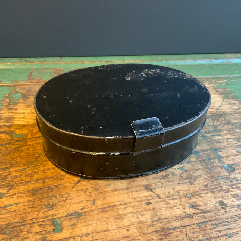 Vintage Horracks Oval Tin