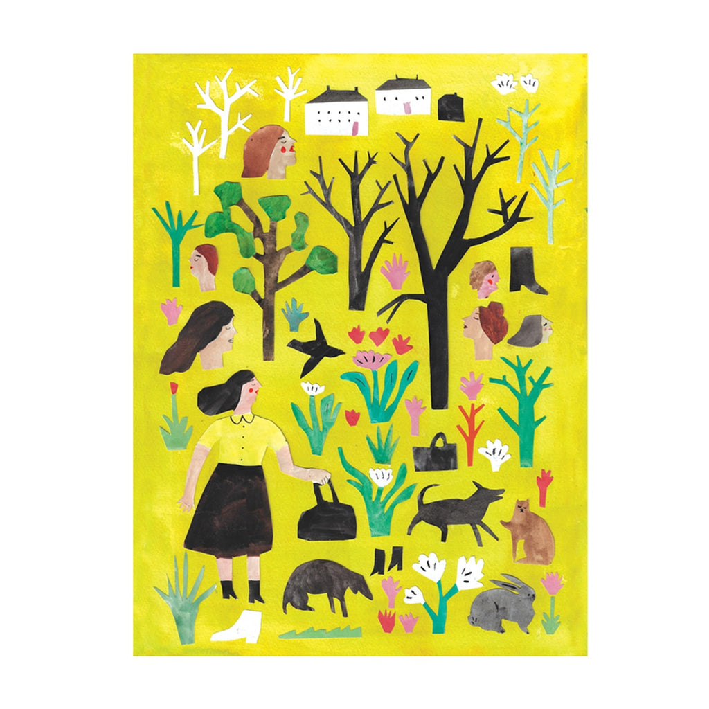 Fine Art Giclee Print 'Woods Collage'