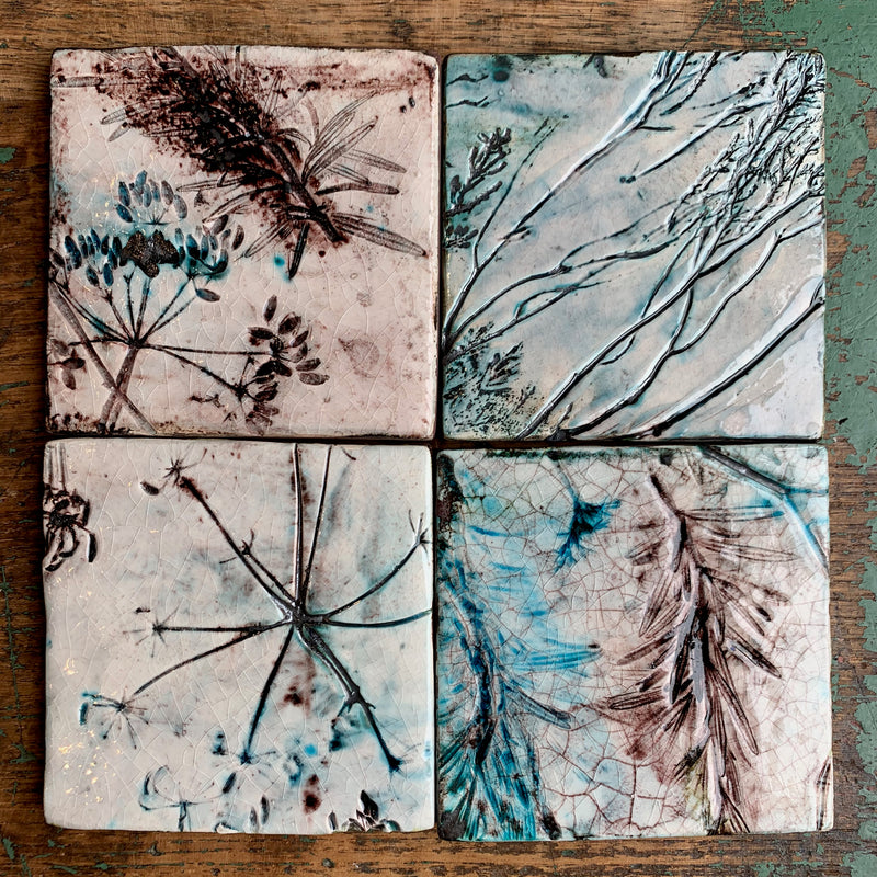 Ceramic Tile 'Moor & Garden Crackle'