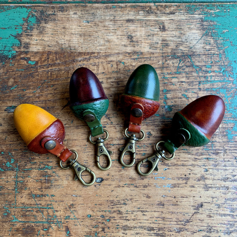 Leather 'Small Acorn' Purse