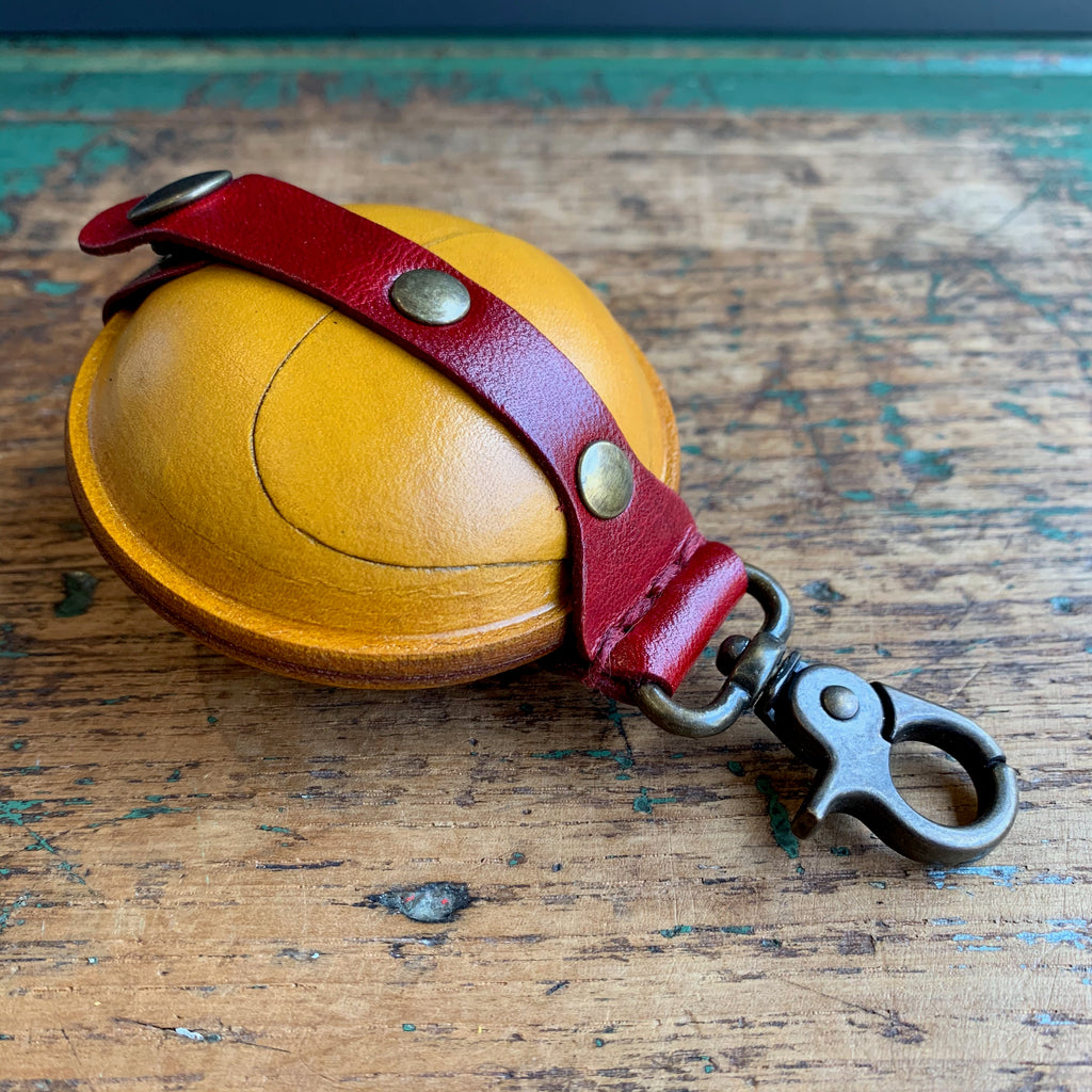 Leather 'Midi Pumpkin' Purse