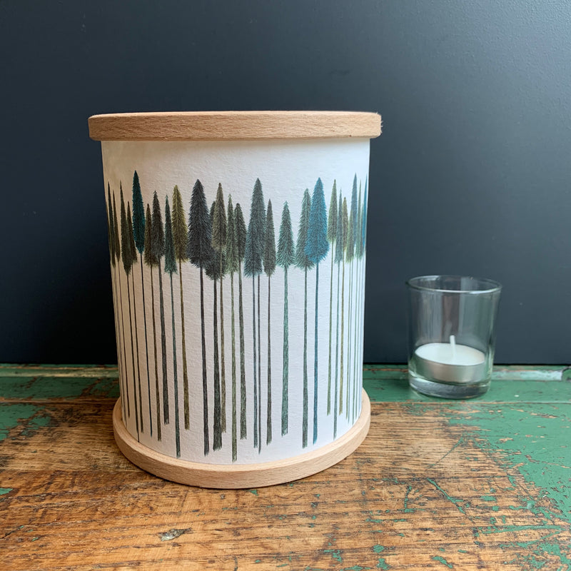 Candle Cover 'Tall Trees'