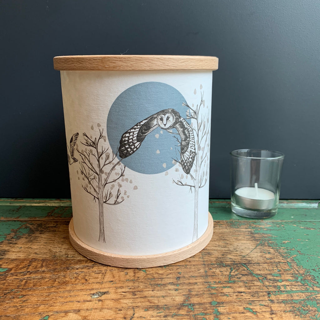 Candle Cover 'Flying Owl'