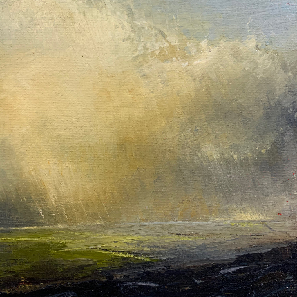 'Across Wharfedale' Original Oil Painting
