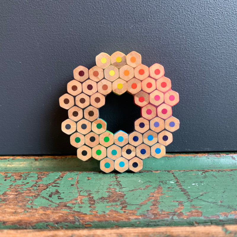 Colour Spectrum Brooch