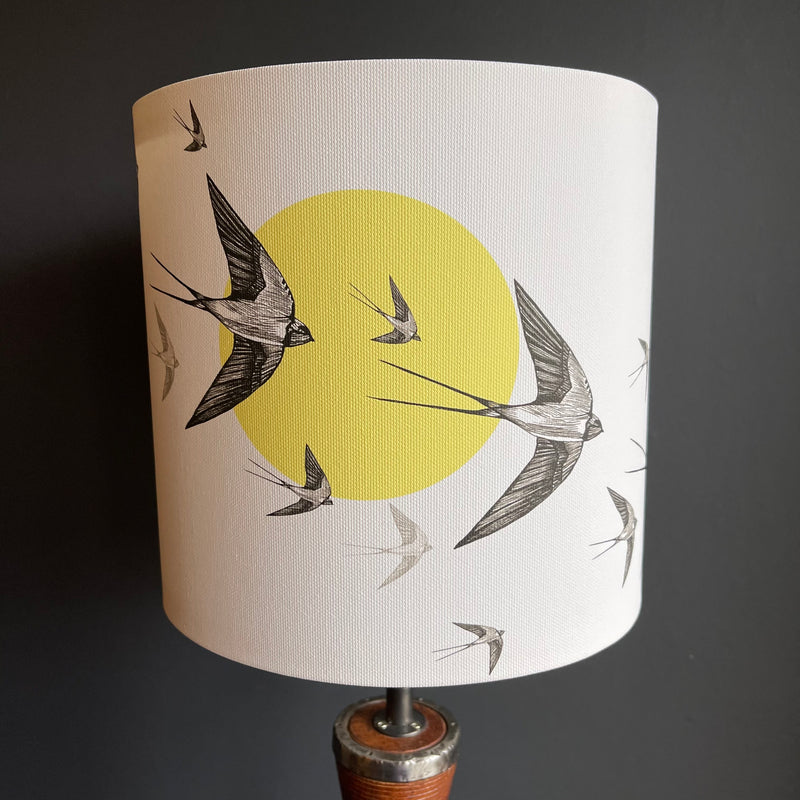 20cm Lamp Shade 'Swallows'