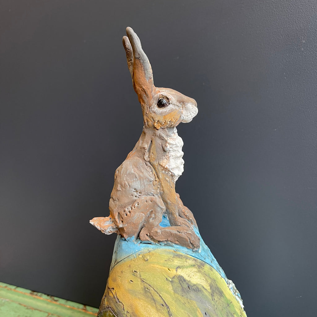 Hare on a Hill (Sitting)