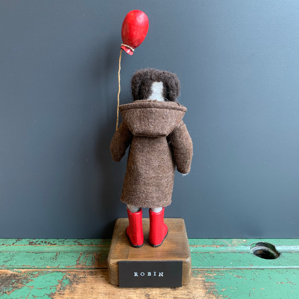 'Robin' Needlefelt Dog Figure