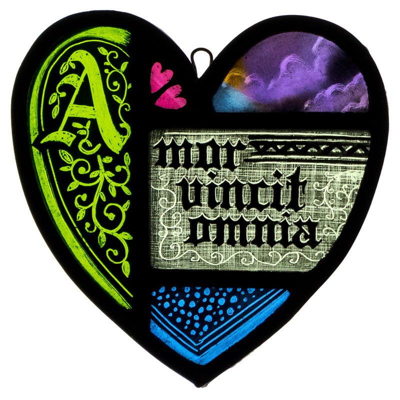 'Eider Duck' Collagraph
