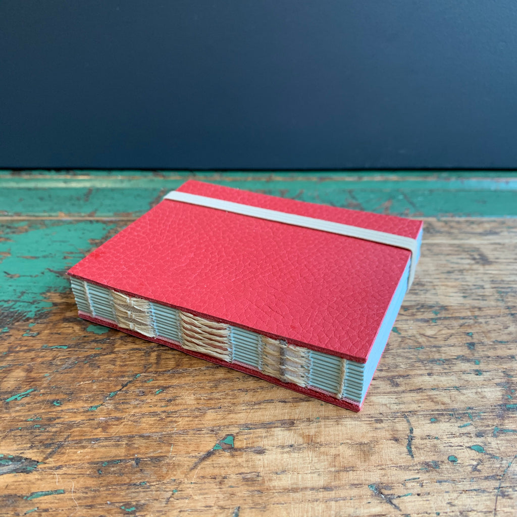 Small 'Recycled Leather' Notebook