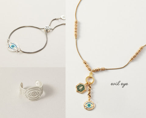 Evil Eye Jewelry from Air and Anchor
