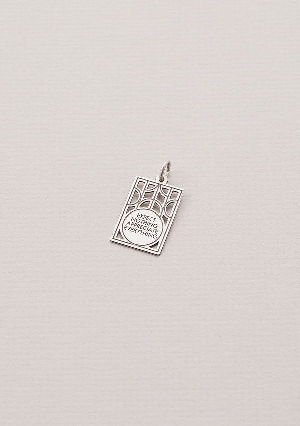 Expect Nothing Appreciate Everything | Necklace Charm