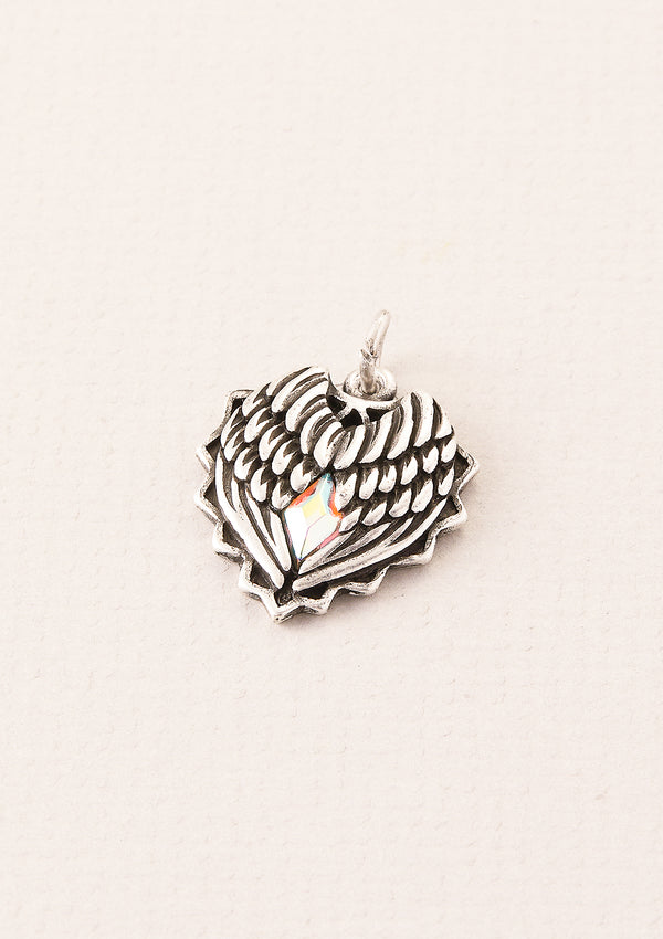 Heart N' Soul Wings Pendant Charm