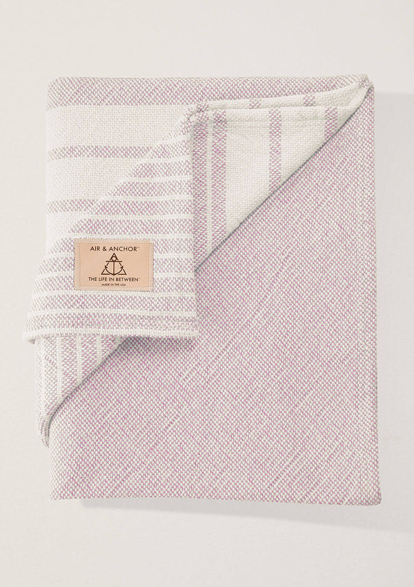 Air and Anchor Even Keel Throw | Rose Striped