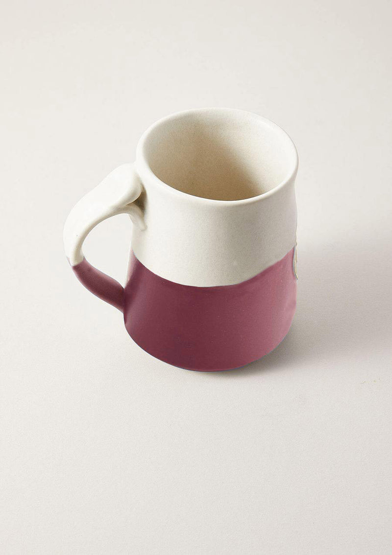 Big Ass Mug in Matte Rose Pink