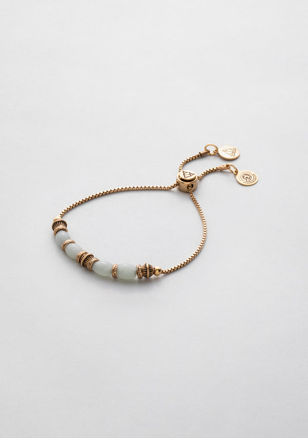 Simmah Down Green Aventurine Adjustable Bracelet