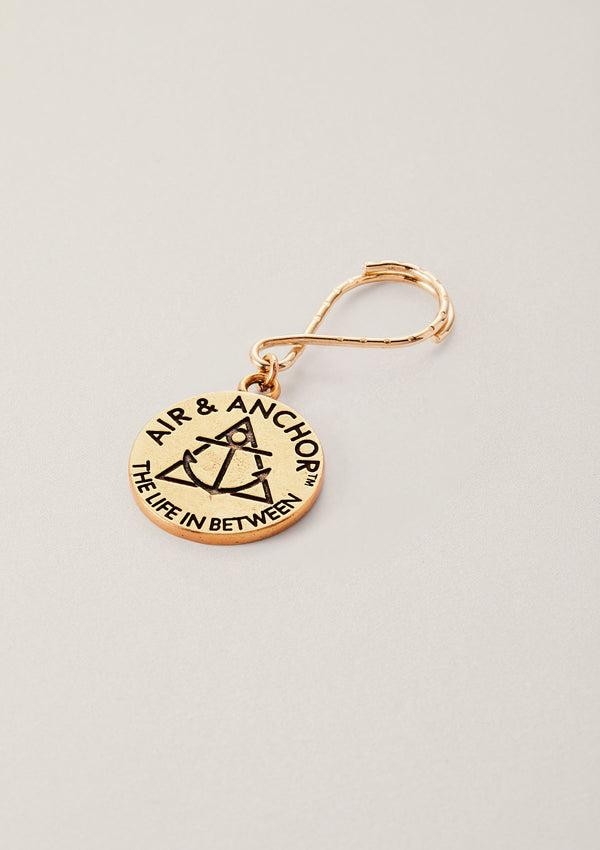 Make it a Good One | AIR & ANCHOR Round Key Chain