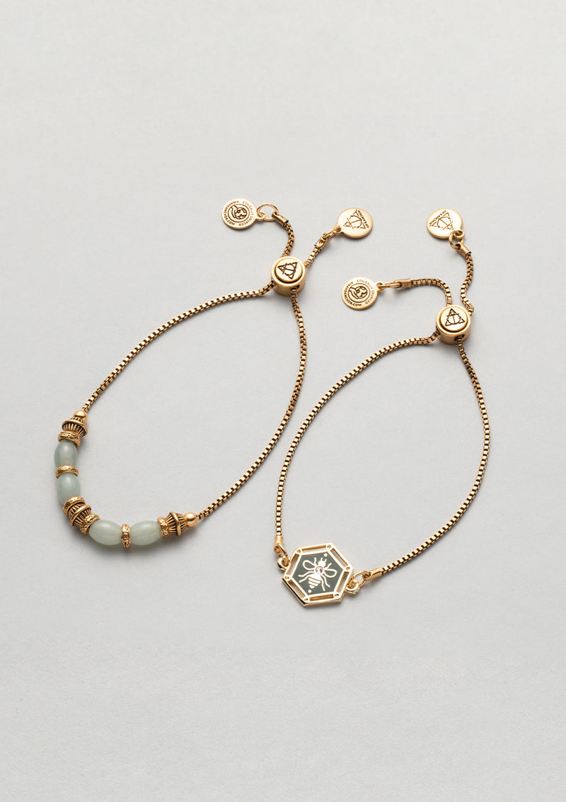 Bee Admired Bracelet Set
