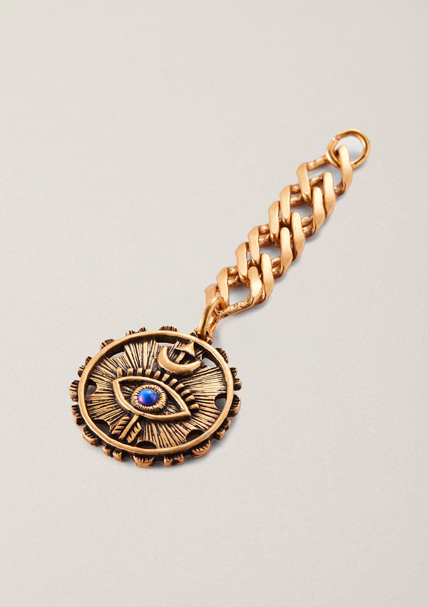 Eye of Truth Necklace Pendant with Crew Extender