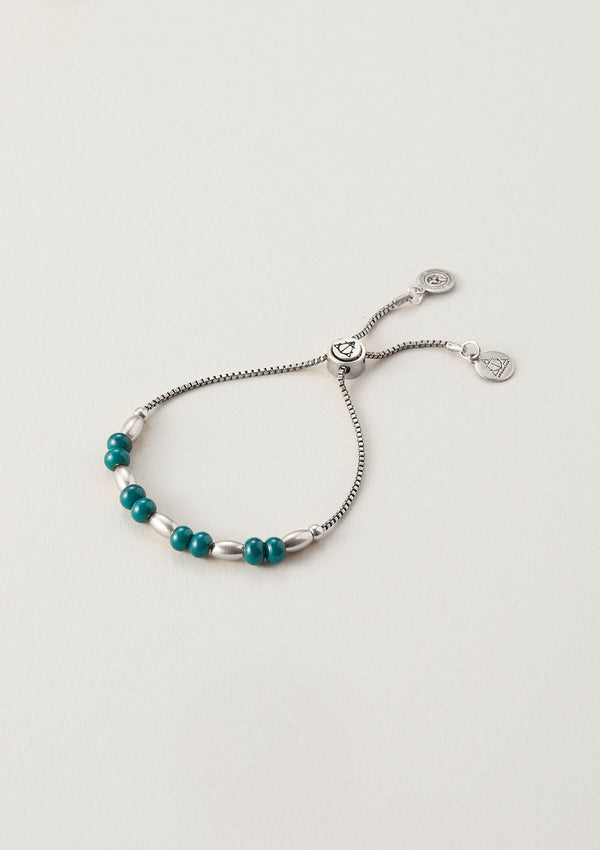 Hang The Mistletoe Beaded Bracelet
