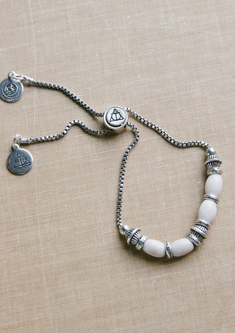 Go With The Flow Riverstone Adjustable Bracelet