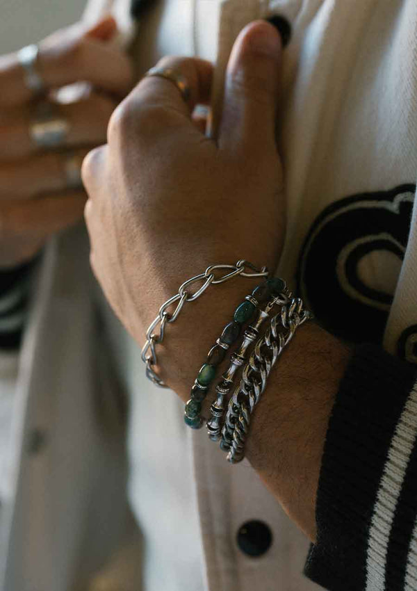 Don't Sweat The Small Stuff Mens Bracelet Set