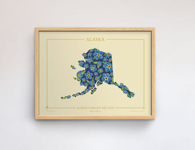 Alaska Native Botanicals Print