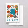 Arizona American Gouache Greeting Card