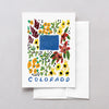 Colorado American Gouache Greeting Card