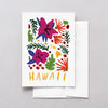 Hawaii American Gouache Greeting Card