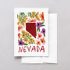 Nevada American Gouache Greeting Card