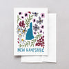 New Hampshire American Gouache Greeting Card