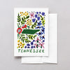 Tennessee American Gouache Greeting Card