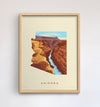 Arizona State Print - Grand Canyon