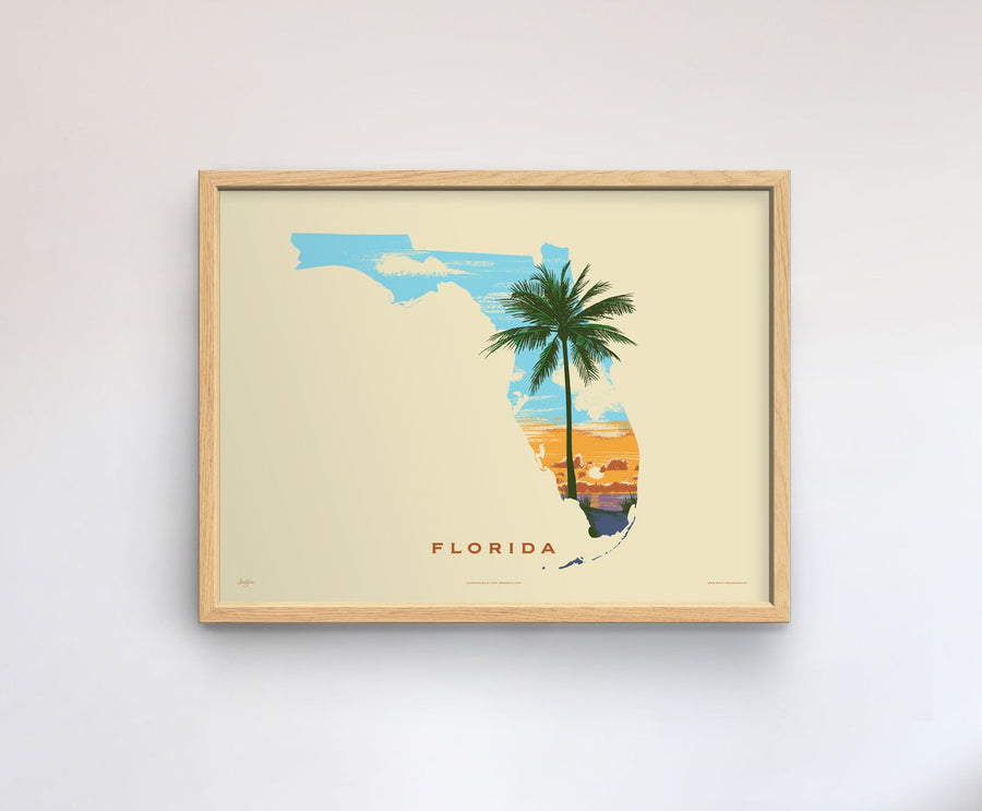 Florida Native Botanicals Print