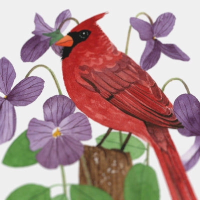 Illinois Northern Cardinal Print
