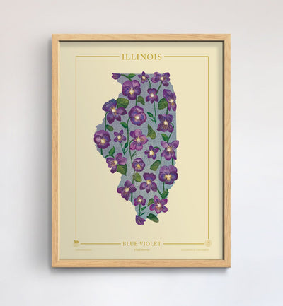 Illinois Native Botanicals Print