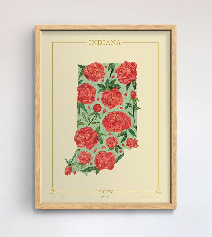 Indiana Native Botanicals Print