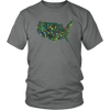 Botanic Colonies USA Tee