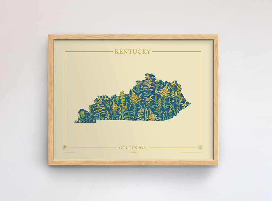 Kentucky Native Botanicals Print