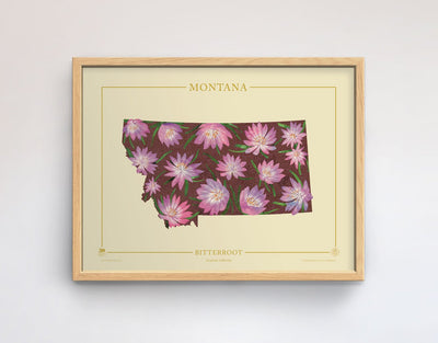 Montana Native Botanicals Print