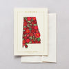 Alabama Native Botanicals Greeting Card