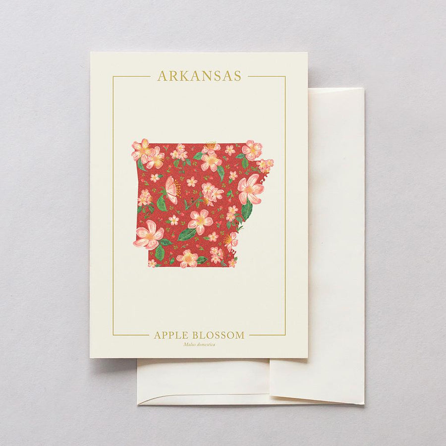 Arkansas Native Botanicals Greeting Card