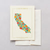 California Native Botanicals Greeting Card